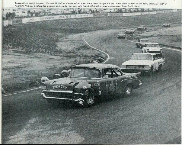 Hershel Mcgriff Winner At Riverside Vintage West Coast Stock Cars Nascar Pinterest