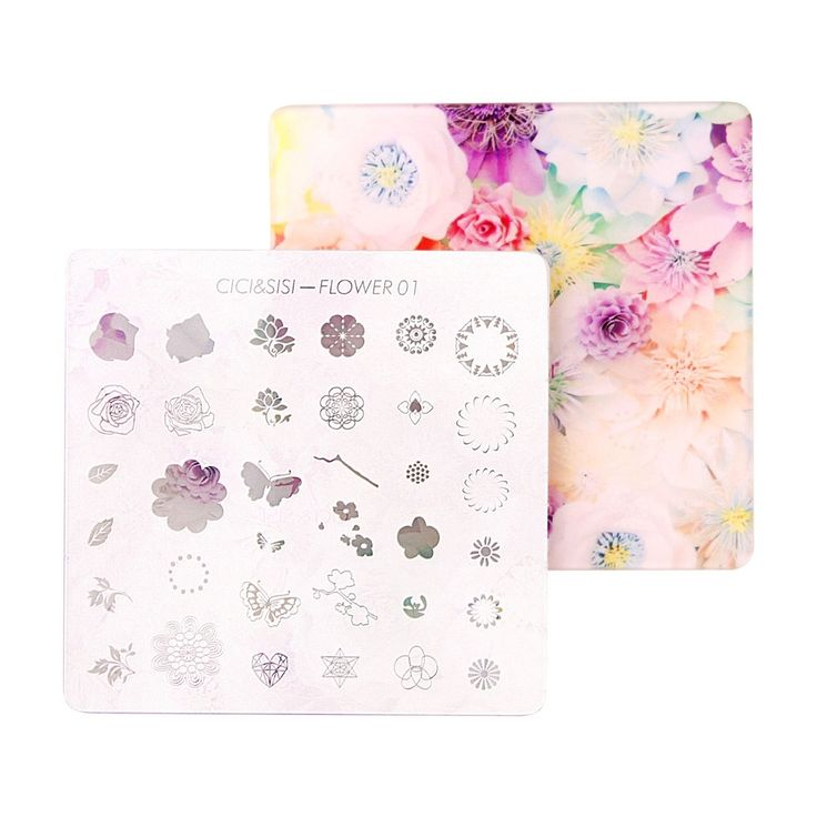 4.65$  Watch here - http://alir05.shopchina.info/go.php?t=32676254312 - CICI&SISI Acrylic Layered Nail Art Stamping Plate Decorations Konad Stamping Manicure Template Stamp Flower and Bird 01-04 4.65$ #magazineonlinebeautiful