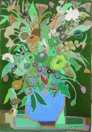 Liz Innvar painting- I love how wild everything looks and all the detail she puts into everything. Amazing...