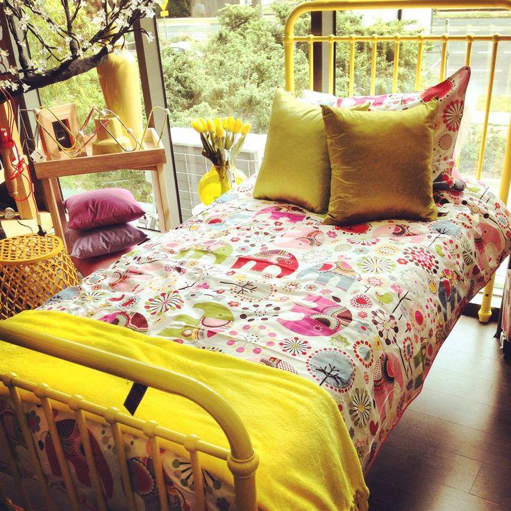 Loving Yellow  @dcb_designs #dcbdesigns #bed #homewares #yellow