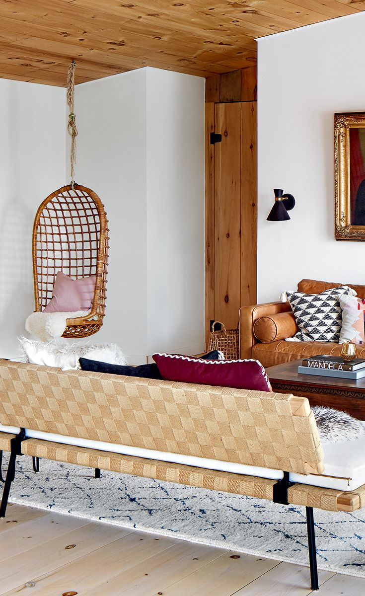 A year round cottage with a mix of vintage and modern elements pinterest