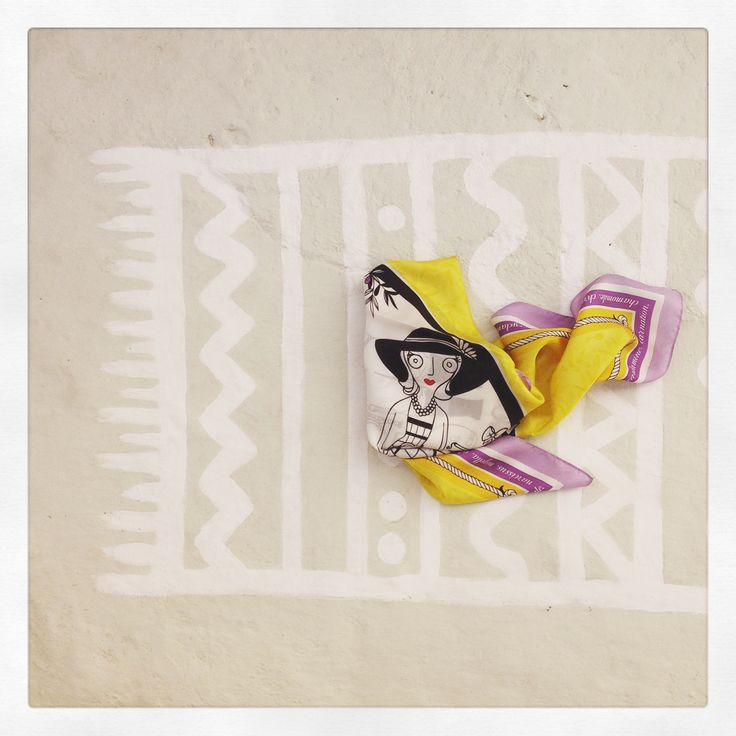 """Grecian in Provence"" silk scarf by Grecian Chic!"