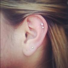 Double Helix Pierce Earring Google Search