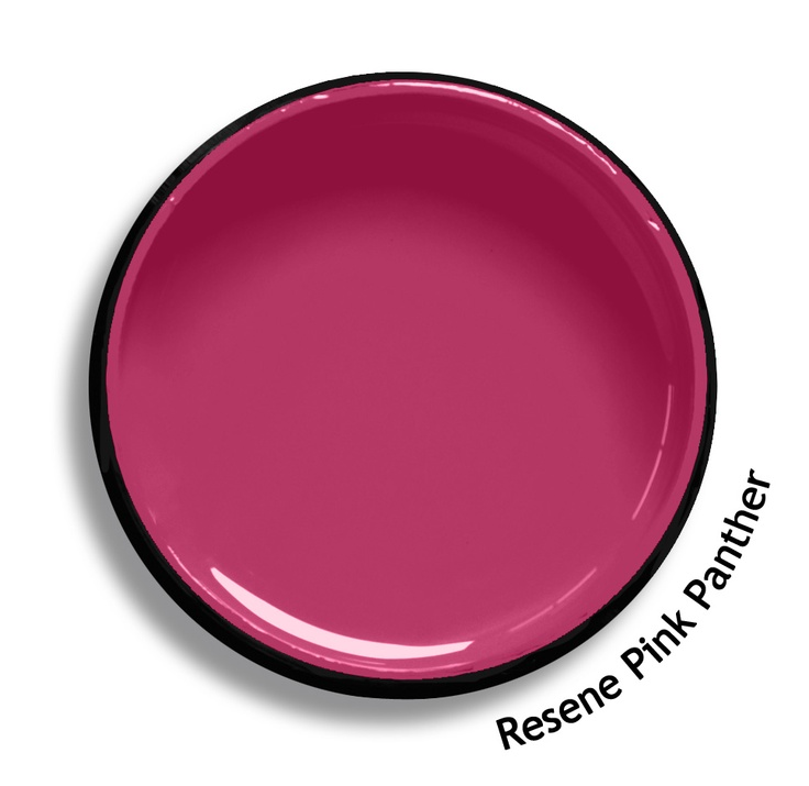 Resene Pink Panther is a modern red violet, softly pink. From the Resene KidzColour colour range. Try a Resene testpot or view a physical sample at your Resene ColorShop or Reseller before making your final colour choice. www.resene.co.nz/kidzcolour.htm