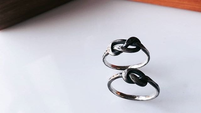 So the guys and girls out there have been asking us for Knot rings that are more suitable for guys..