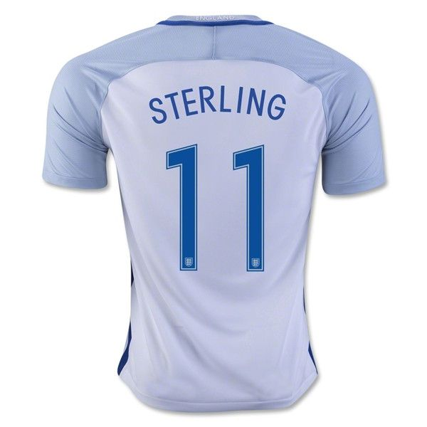 cheap soccer jersey from topjersey 2016 european cup england sterling home white thailand soocer jer