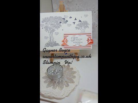 d3997c1bc Golden Afternoon Card Stampin  Up! - YouTube