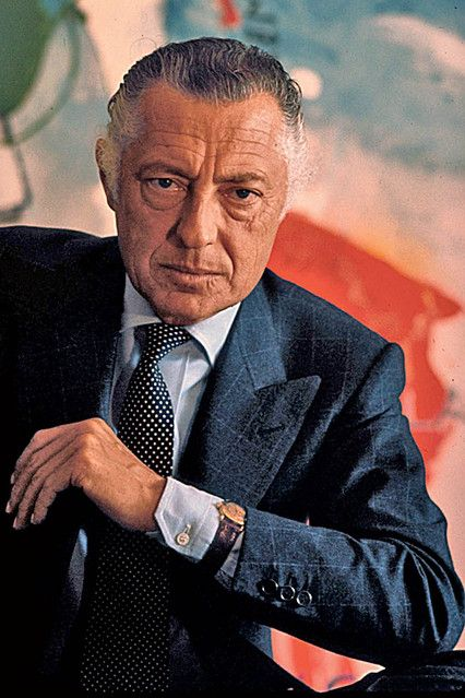 Gianni Agnelli,a icon.It's not the clothes. It's the character, the way. You can be inspired by him, but you have to do it by finding your own style. It's not only the beauty of putting the watch over the shirt; it's something unique, the elegance in his mind. To be a man of elegance, you should be interested in everything: art, design, cars, sports—all things that express beauty.