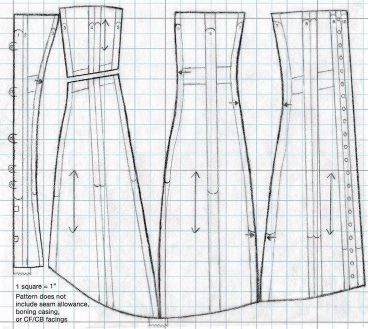 Mejores 31 imágenes de costuras en Pinterest | Patrones de costura ...