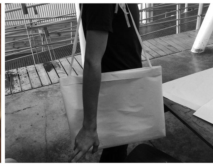 Semana de Diseño de Modas. Proyecto Mochilero. Amaca bolso. Semana 3 Módulo 2.  Universidad veritas  Atelier.