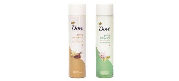 Dove lança novos óleos corporais