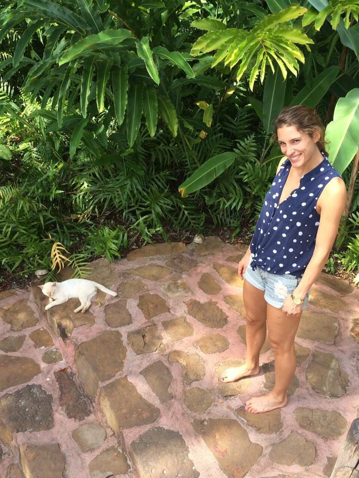 Andrea Petkovic: Nuthin, just hangin with the peeps. #crazyoldcatladythatsme