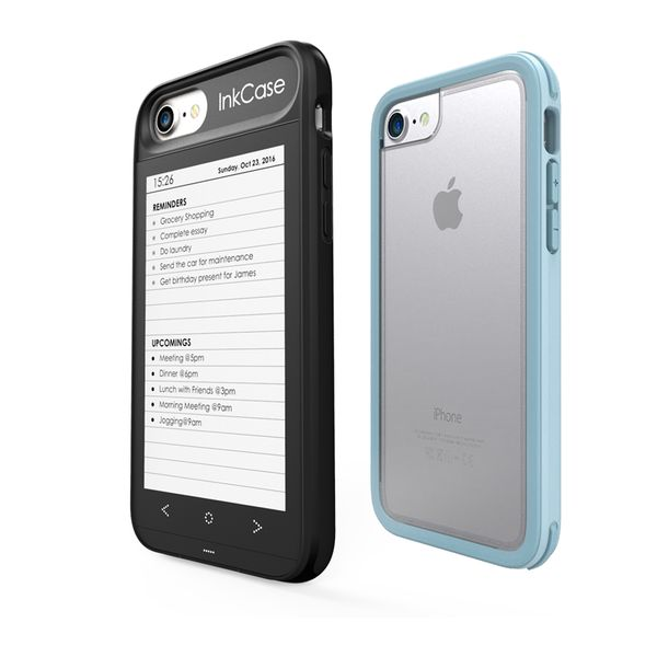 Rekindle your phone ! Upgrade your iPhone 7 with a smart e-ink screen that will allow you to read articles, eBooks, have live widgets