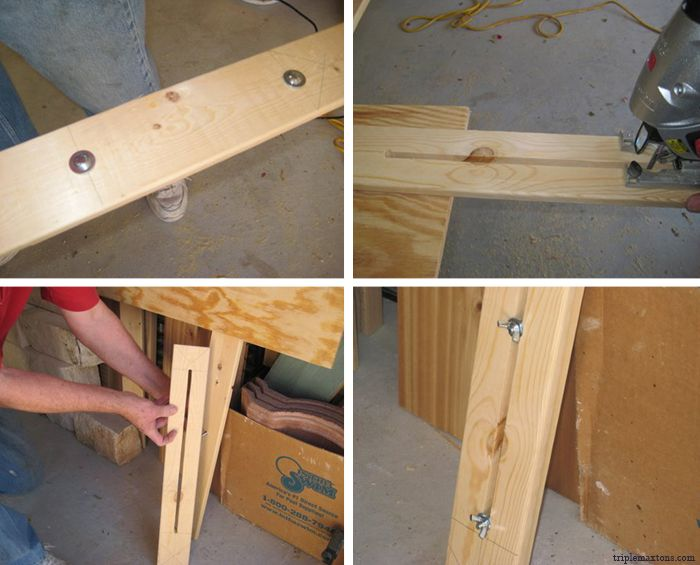 Make Your Own Padded Headboard | Triple Max Tons: DIY
