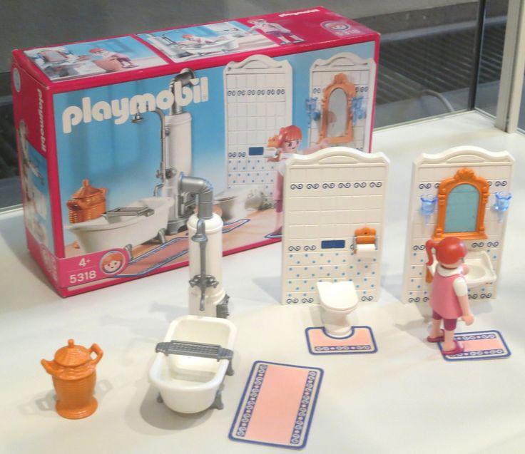Playmobil Badezimmer Viktorianisch 2 | By Diepuppenstubensammlerin