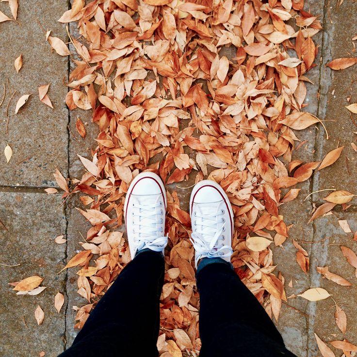 Walking in autumn #autumn #shoes #sneakers #beauty #walking