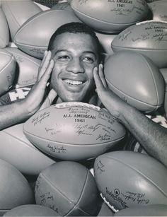 Ernie Davis, Syracuse, 1961