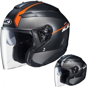 HJC IS-33 II Niro Mens Motorcycle Street Bike Moto Street Cruising DOT Helmet