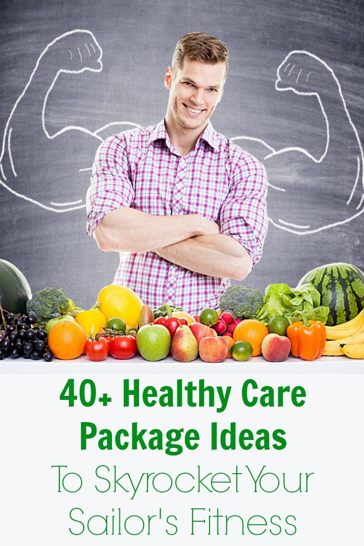 """Skyrocket Your Sailor's Fitness With 40+ Healthy Care Package Ideas"" by Heather of Happyfitnavywife.com 