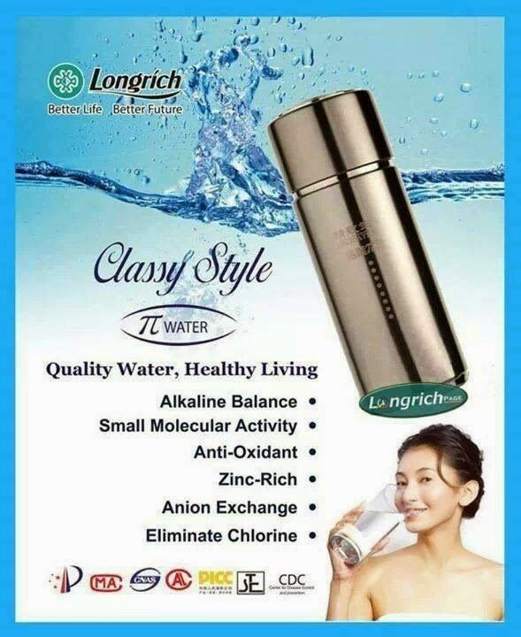 LOngrich Pi Cup is dedicated to producing quality water for better health. Used Pi cup and stay Healthy  Pi Cup 13 Essential Minerals.