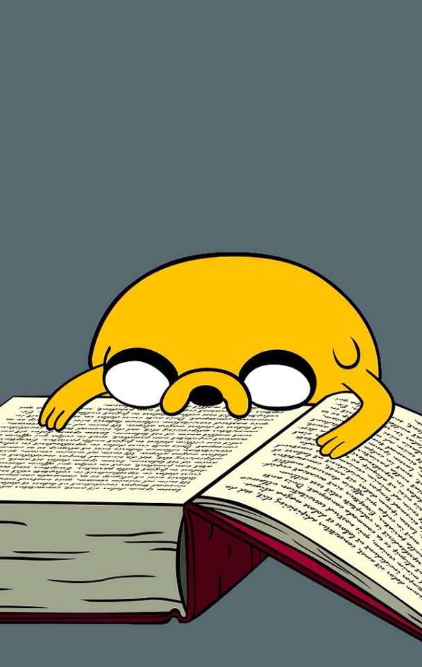 Ese momento en el q llevas tantas horas leyendo, que ya solo lo puedes hacer asi