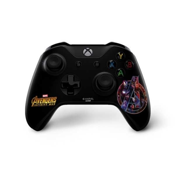 Avengers Xbox Controller Skins By Skinit Show Off Your Avengers Infinity War Fandom While You Protect Your Xbox One X Controller With The Avengers Fu Xbox One