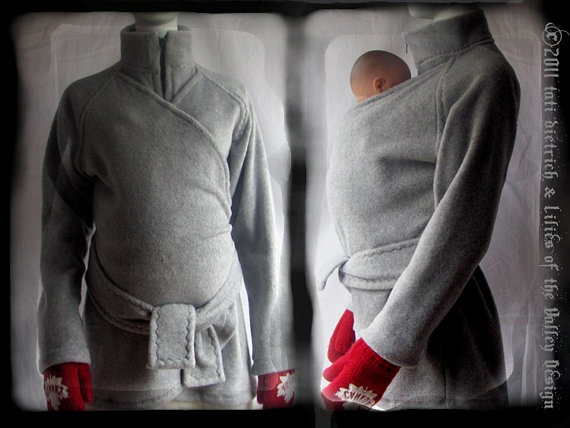 Awesome jacket to put over a baby while baby wearing.