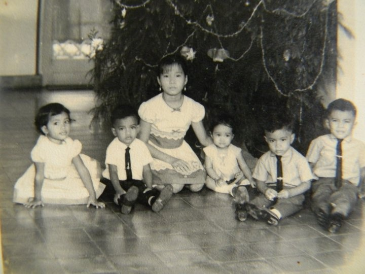 Its my brothers, my cousins, my aunty and me