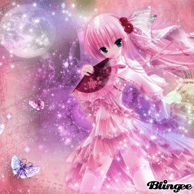 Girly cute anime anime blingee pinterest girly girl - Girly girl anime ...