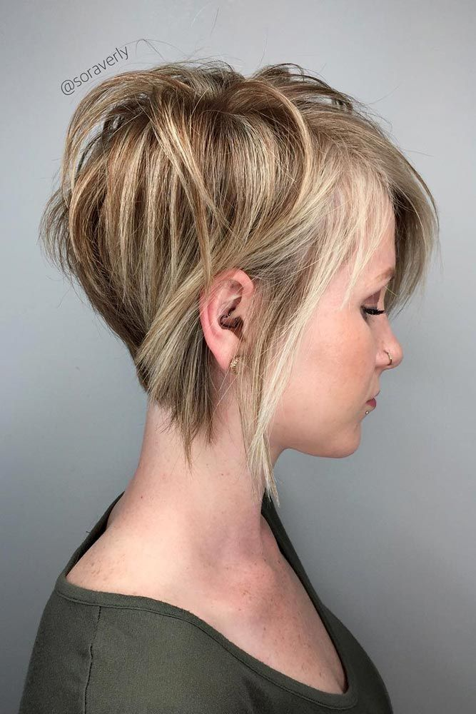 50 Best Short Haircuts With Highlights Unique Kitchen Design