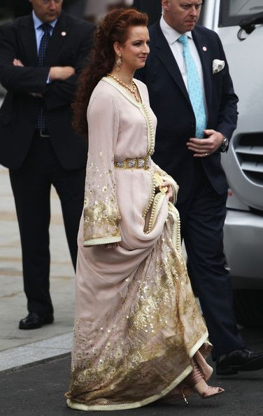 Princess Lalla Salma in Royal Wedding ceremony – Carriage Procession To Buckingham Palace And Departures