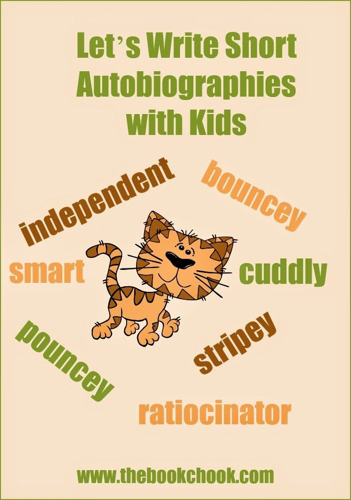 The Book Chook: Let's Write Short Autobiographies with Kids