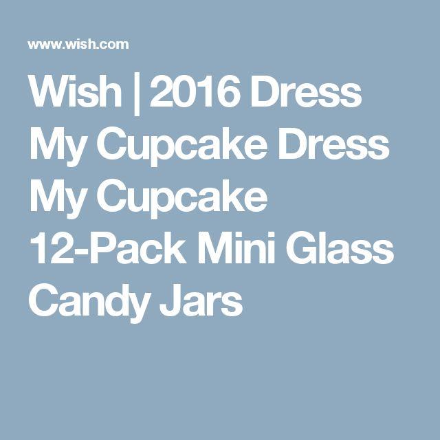 Wish | 2016 Dress My Cupcake Dress My Cupcake 12-Pack Mini Glass Candy Jars