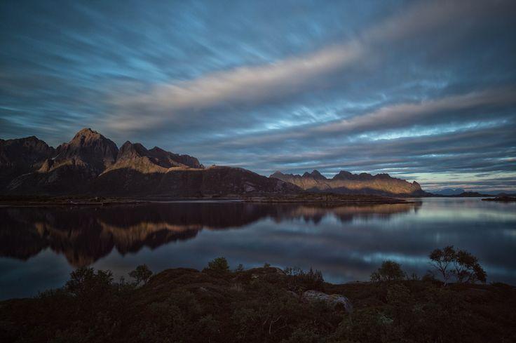 Lofoten, Norway, Sunset