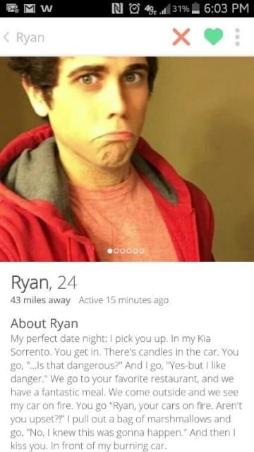 21 Bizarre Tinder Bios That'll Make You Swipe Left