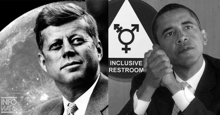 5/17/2017Texas Governor Gregg Abbott came out swinging Tuesday- in regards to New Public School Bathroom  Regulations Mandated from Federal  Level.He tweeted: TX Gov: JFK Wanted to send a Man to the Moon. Obama Wants to send a Man to the  Women's Restroom. WE Must Get Our Country Back.