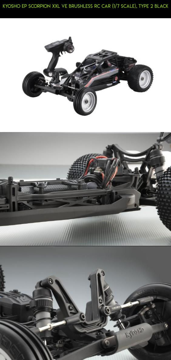 Kyosho EP Scorpion XXL VE Brushless RC Car (1/7 Scale), Type 2 Black #tech #kit #road #racing #drone #plans #camera #fpv #kyosho #parts #shopping #products #gadgets #off #technology