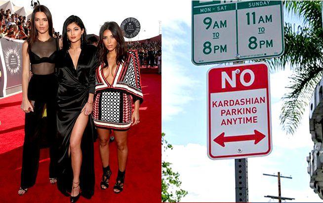 Parkverbot für die Kardashians?  Wir erklären, was hinter den skurrilen Schildern steckt.