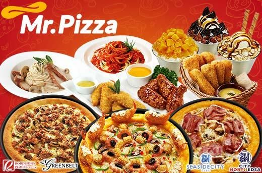 40% Off Mr. Pizza: P299 for P500 Worth Food & Drinks at Greenbelt, Robinsons Manila, SM Seaside Cebu & SM North EDSA! Get it now at www.MetroDeal.com, so don't miss it now!