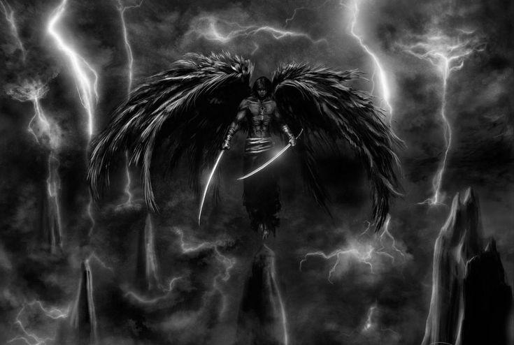 dark horror gothic angel - photo #24