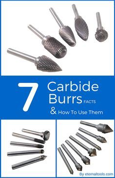7 Facts About Tungsten Carbide Burrs and How To Use Them By Eternal Tools