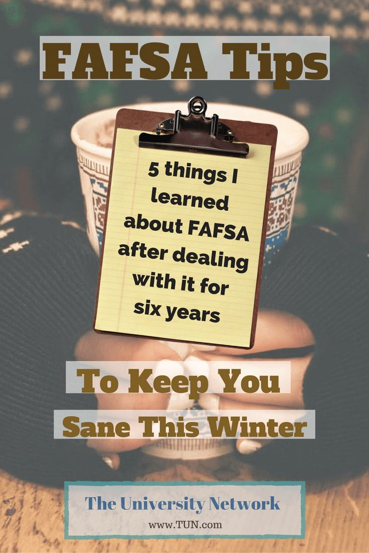 There were some pretty big shakeups in the FAFSA this year and the purpose of this article is to give you the five things you need to know about the FAFSA if you want to keep sane!