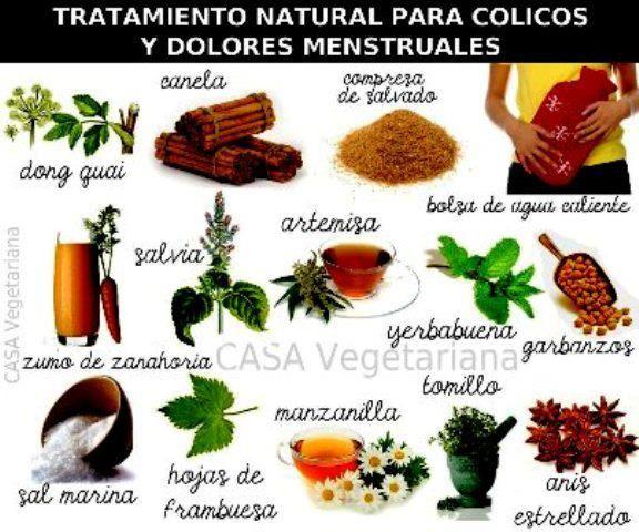 tratamiento natural para cólicos y dolores menstruales