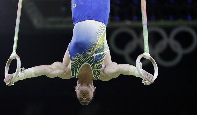 Arthur Zanetti  (Foto: AP Photo/Dmitri Lovetsky)