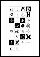 Print Alfabet
