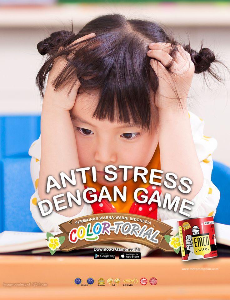 Tak hanya orang dewasa yang bisa mengalami stres, anak-anak pun juga bisa mengalami stres. Meski mereka belum memiliki beban berpikir seperti orang dewasa, bukan berarti mereka terbebas dari stres. Mari kenali beberapa penyebab stres pada anak:   -Keinginan terus berkompetisi dan ketakutan kalah bersaing dengan temannya. Kawan EMCO perlu menjelaskan pada mereka tentang konsep menang dan kalah dalam setiap kompetisi adalah hal yang wajar. Dengan begitu mereka bisa menikmati... goo.gl/rIt3UF