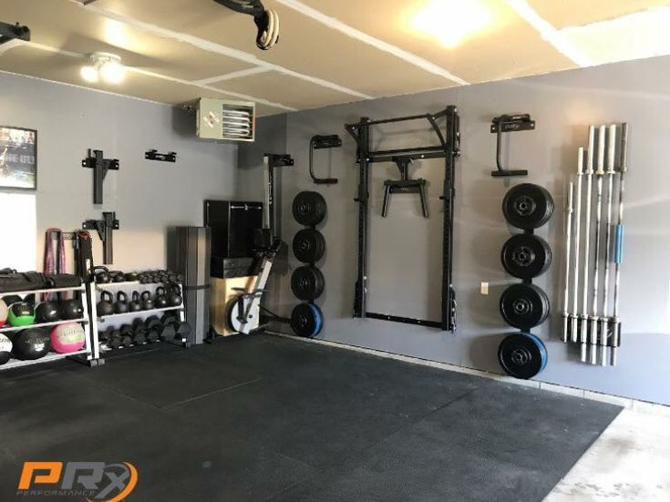 Stored Away And Ready To Crush The Week Tag A Friend Who Has This Clean Parking SpaceWeight TrainingBarbellGarage IdeasSmall