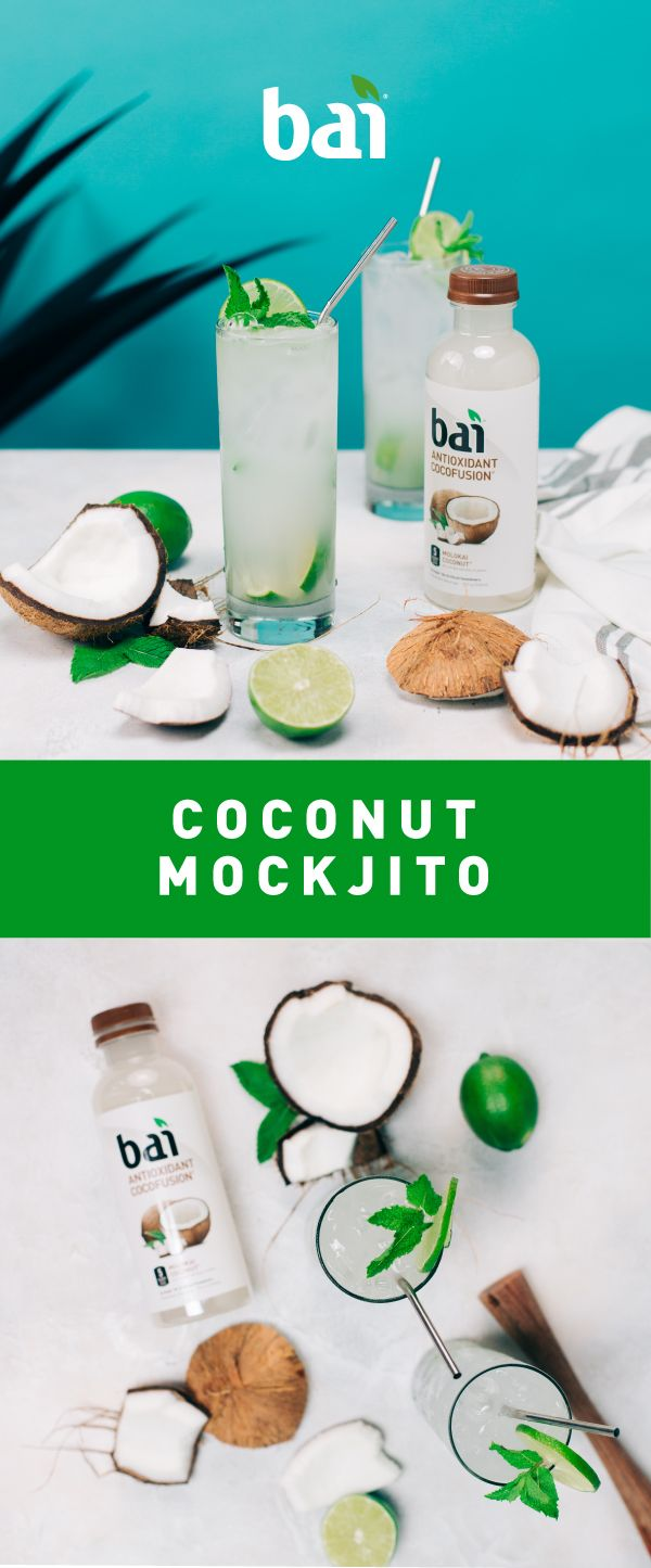Don't mock it till you try it. Make this 5-calorie Coconut Mockjito mocktail and keep your clean diet.