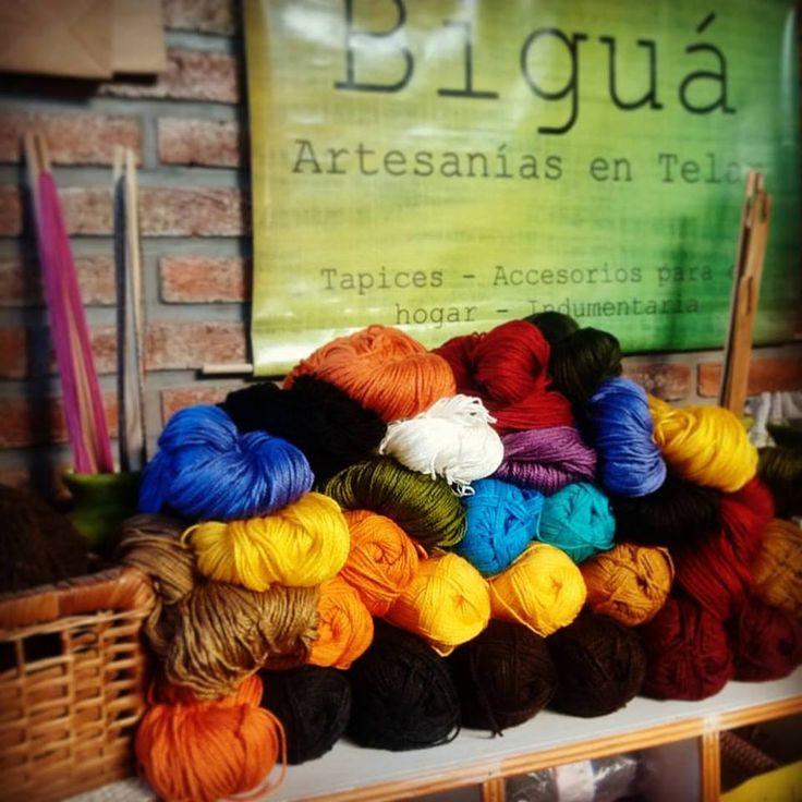 Llegaron los #colores a #Biguá