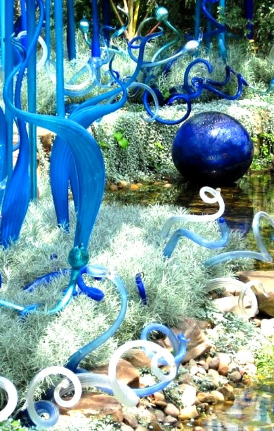 """Create Every Day: Dale Chihuly """"Glass in the Garden"""" Exhibition (part 1)"""